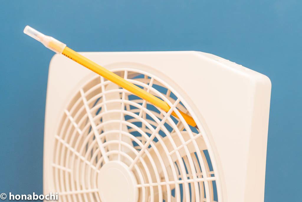 防災でもキャンプでも暑さ対策は、ロゴスの電池式扇風機がオススメ!
