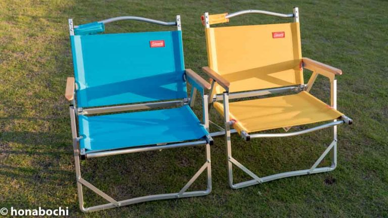キャンプ&ピクニックにオススメな椅子「コールマンのコンパクトフォールディングチェア」の座り心地が最高!!